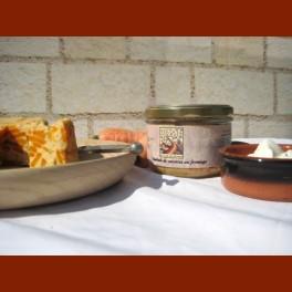 Pâté de carottes au fromage Photo décorative non contractuelle