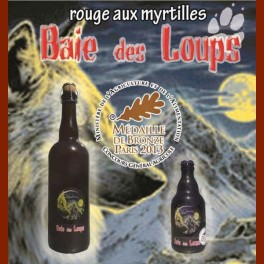 Bière à la myrtille 33 cl