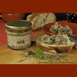Pâté of chicken wtih hyssop