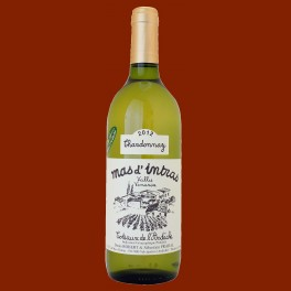 Blanc - Chardonnay 2012 - Labellisé AB