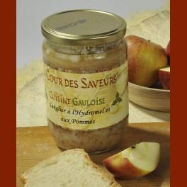 Sanglier à l'hydromel et aux pommes 600 g (2 personnes)