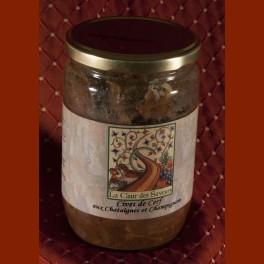 Civet de cerf aux châtaignes 600 g