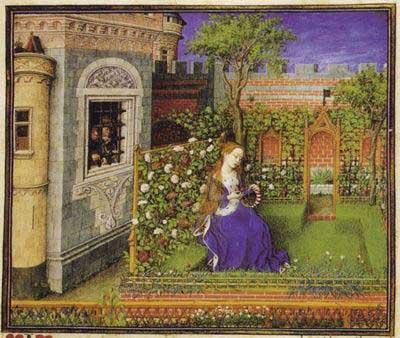 Herbes du moyen age la cour des saveurs - Les herbes aromatiques du jardin ...